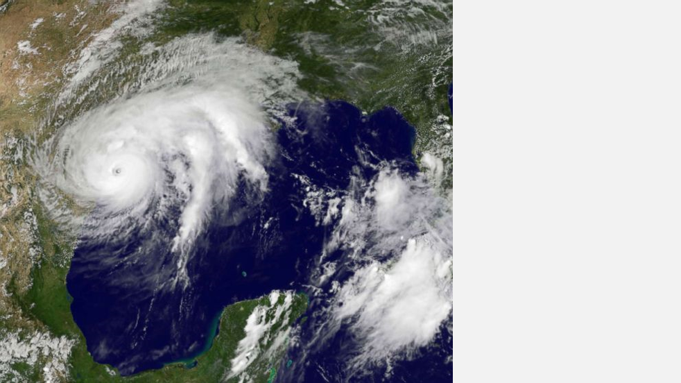 Satellite Image of Hurricane