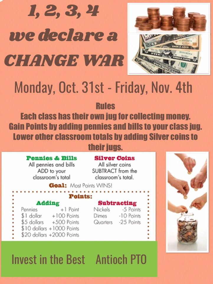 Picture of the Change War Flyer