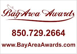 Picture of the wording Bay Area Awards logo with phone number
