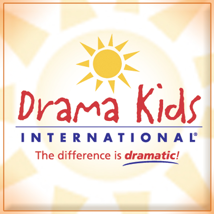 Picture of the Drama Kids logo with a sunshine