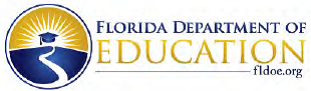 Picture of Florida Department of Education wording