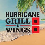 Picture of Hurricane Grill and Wings logo with a beach scene