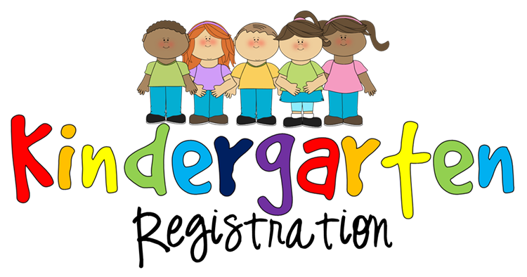 photo of children with Kindergarten registration wording attached
