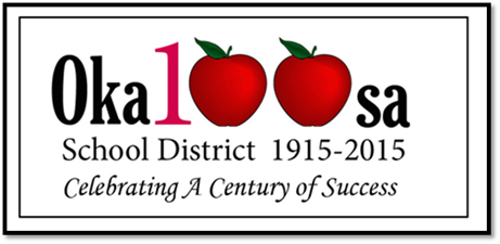 Picture of Okaloosa school district celebrating 100 years