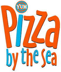 Picture of the Pizza by the sea logo wording only