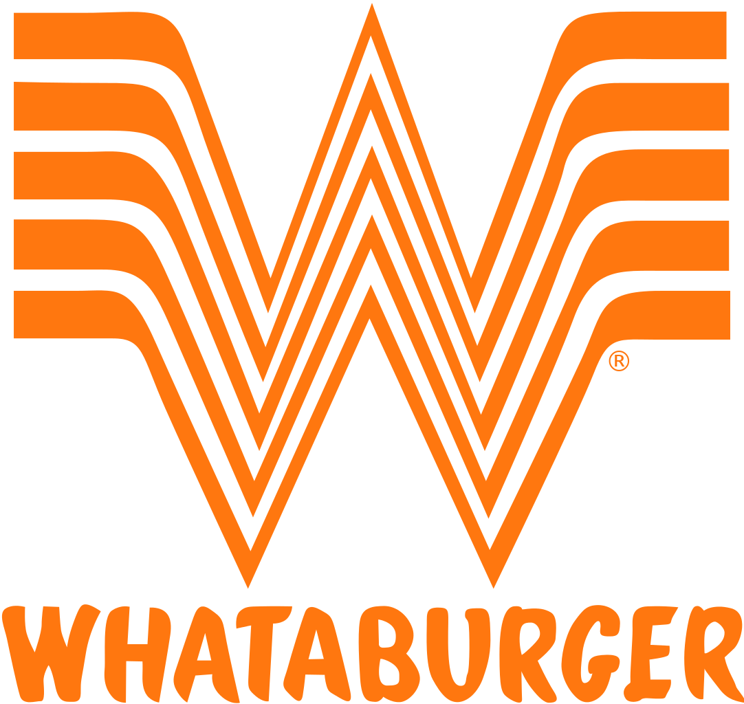 Picture of the Whataburger logo with a big W
