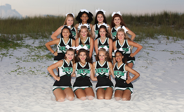 Picture of the 2017-18 JV Sideline Cheerleaders
