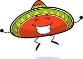 picture of mexican smiling hat