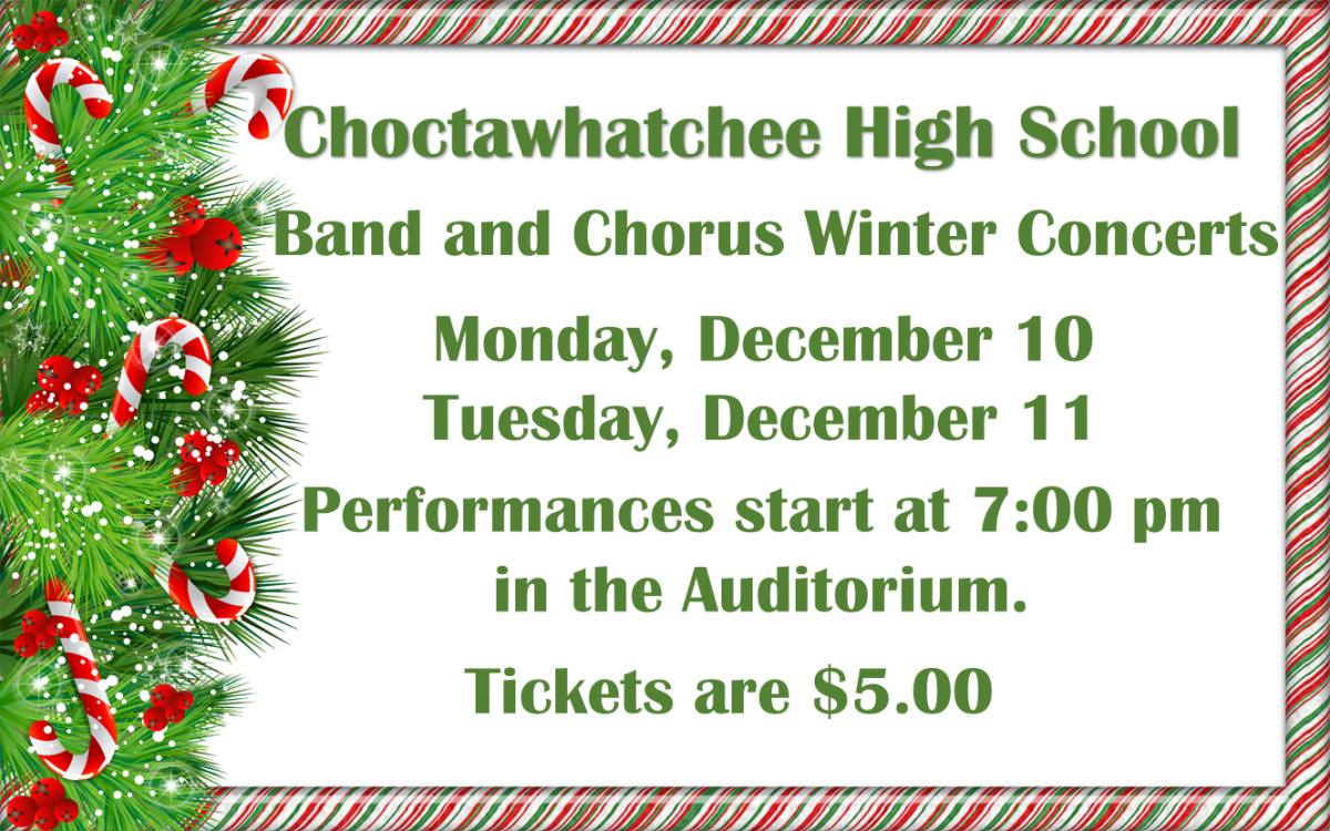 Band and Chorus Winter Concert