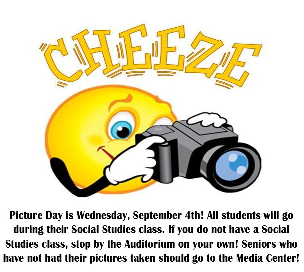 Picture Day September 4th