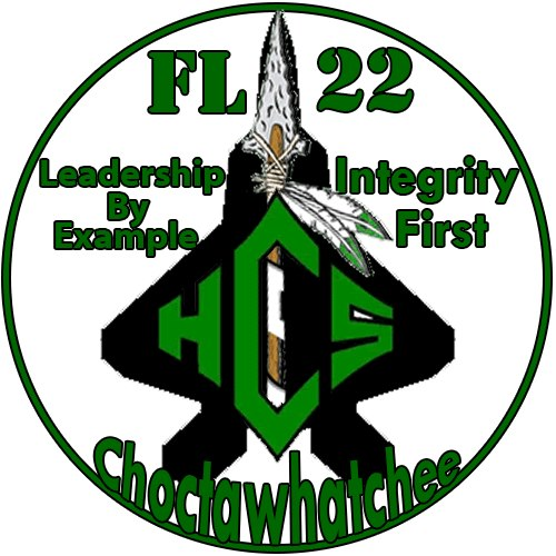 Choctaw AFJROTC FL-022 Patch