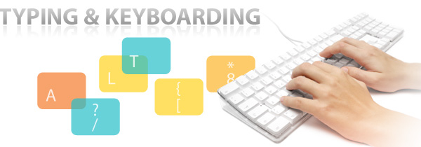 link to typing and keyboarding