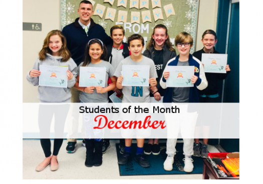 student of month dec