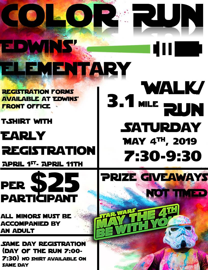 Poster for Color Run