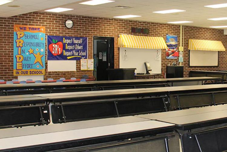 Picture of Longwood ES Cafeteria