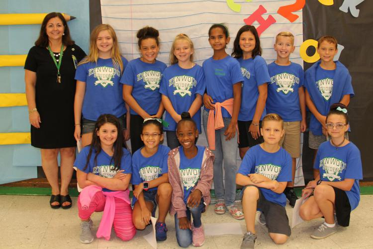 Kenwood ES 50th Anniversary - Student Council
