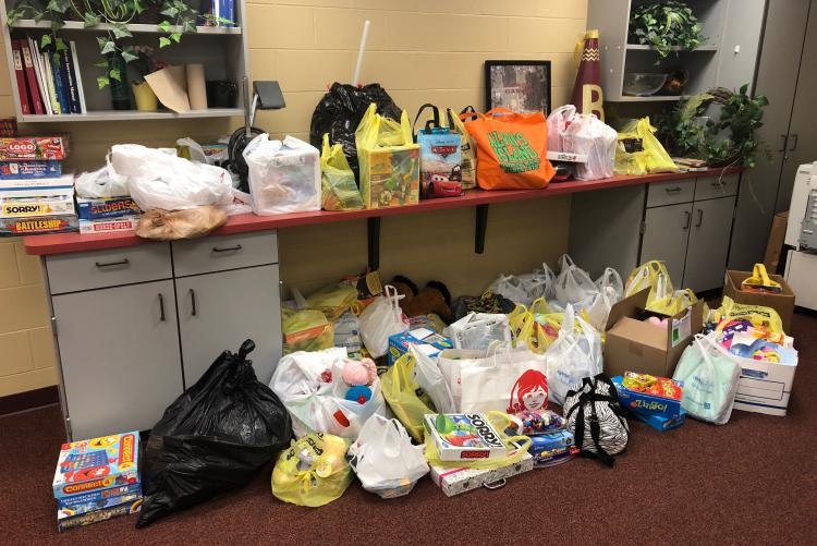 Baker School Donations