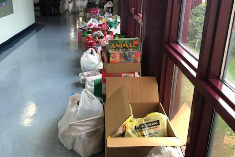 Bluewater ES Donations