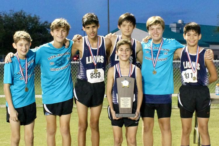 Liza Jackson Boys Cross Country Team