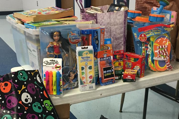 Northwood ES Donations