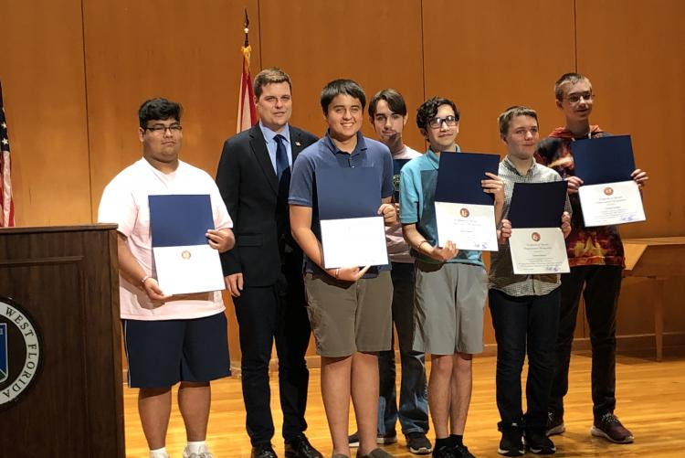 NHS Students Excel in Congressional App Challenge