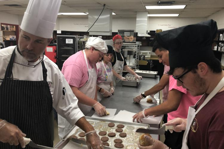 CHS Culinary Arts Students Assist Bay County