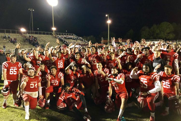 Crestview HS Wins Class 6A District Championship