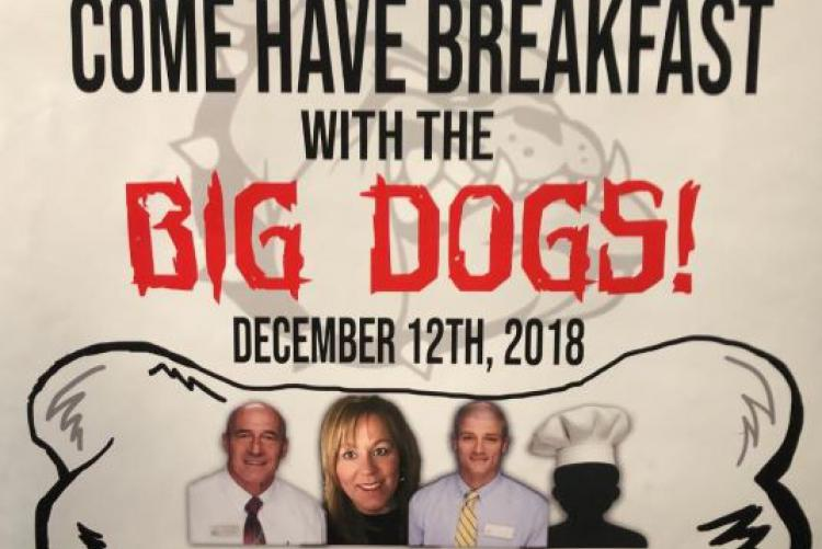 Crestview HS Holds Breakfast with the Big Dogs