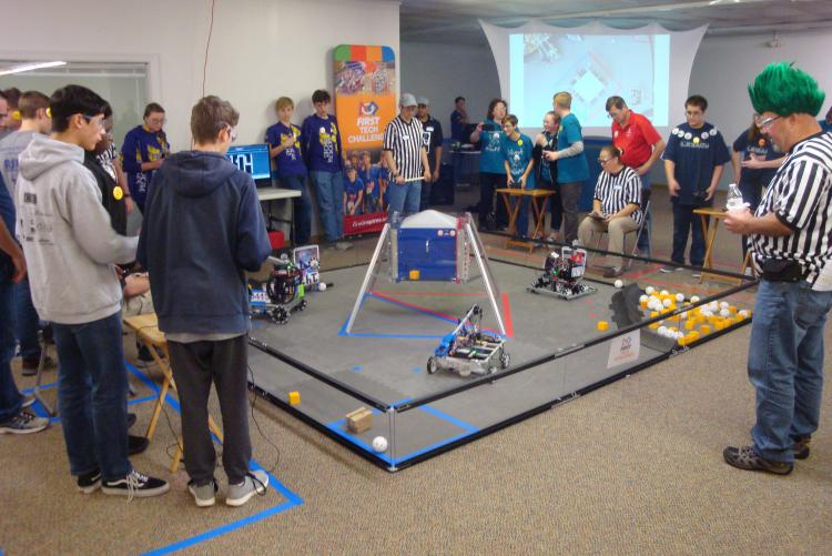 Okaloosa County Students Participate in  Robotics Competition
