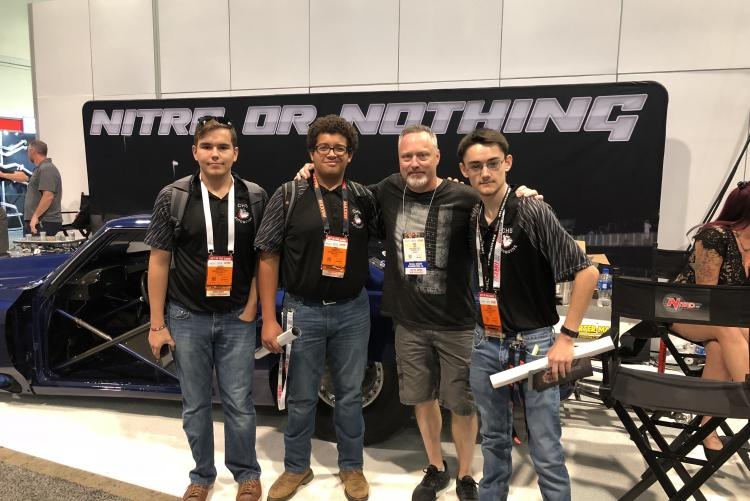 Crestview HS Automotive Program Students Attend SEMA Show