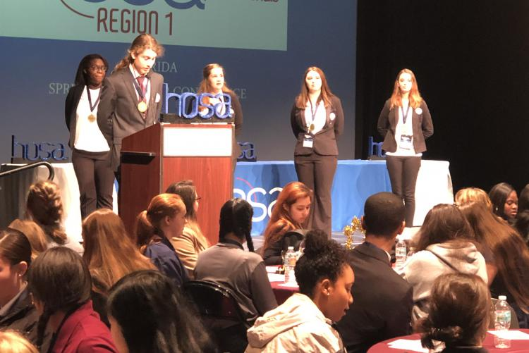 Crestview HS HOSA Students Excel at Spring Conference