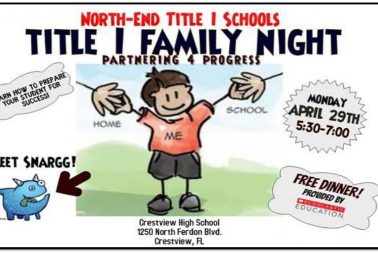 North-End Title I Schools Title I Family Night