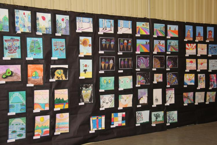 Winners of the 2019 Okaloosa County K-12 Student Art Show Announced
