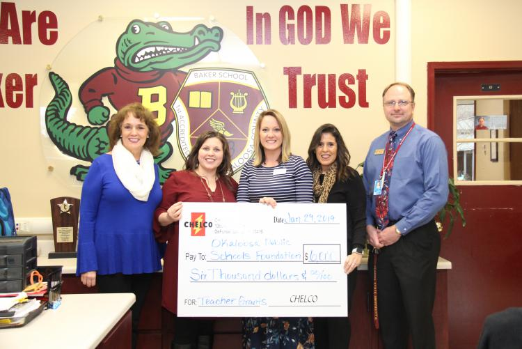 CHELCO Teacher Grants - Baker School