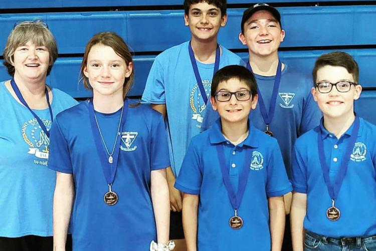 District Holds First MS Academic Tournament