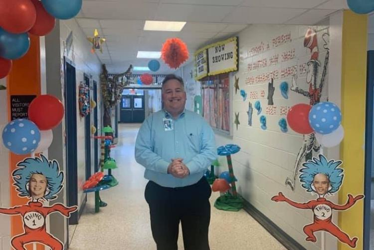 Elliott Point ES Students Celebrate Dr. Seuss and Read Across America Day