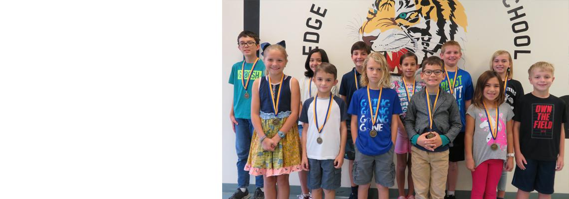 Edge ES Holds Spelling Bee