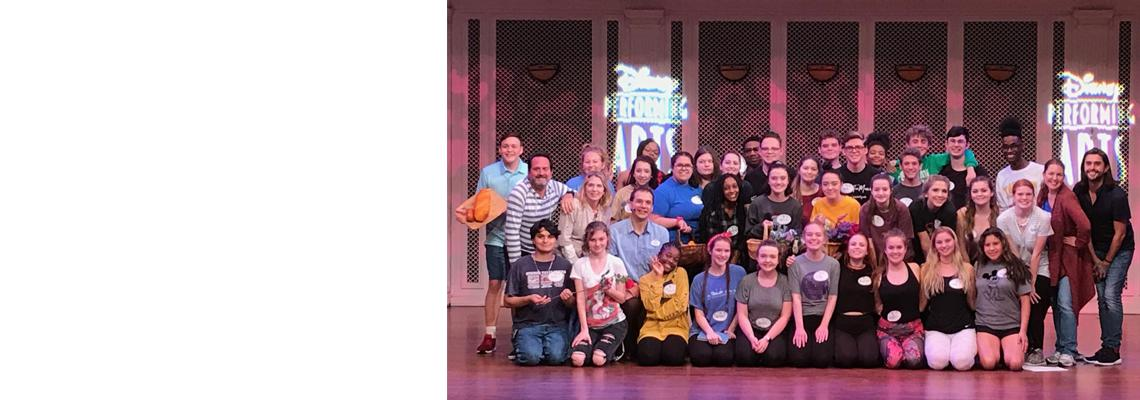 Okaloosa County Theatre Students Attend Disney Performing Arts Workshop