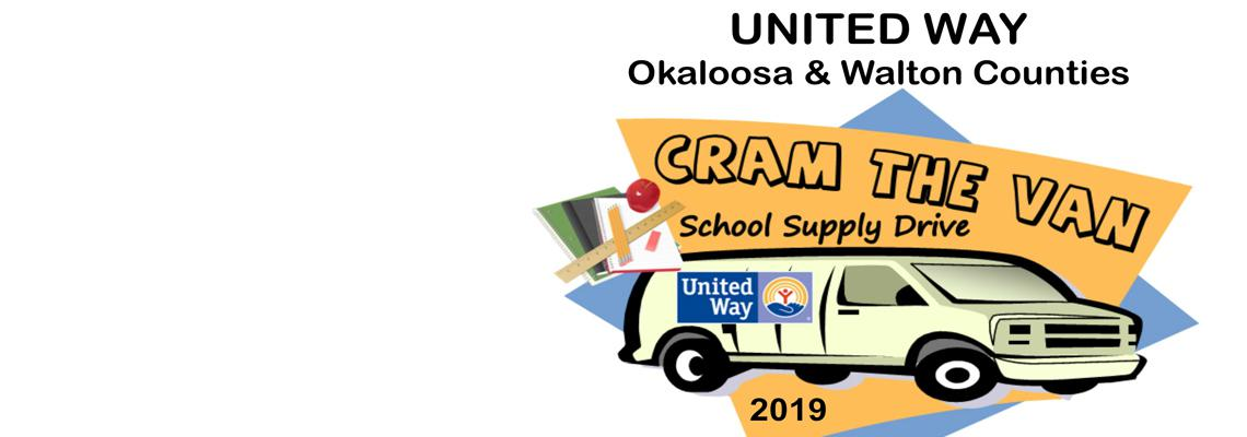 2019 Cram the Van School Supply Drive