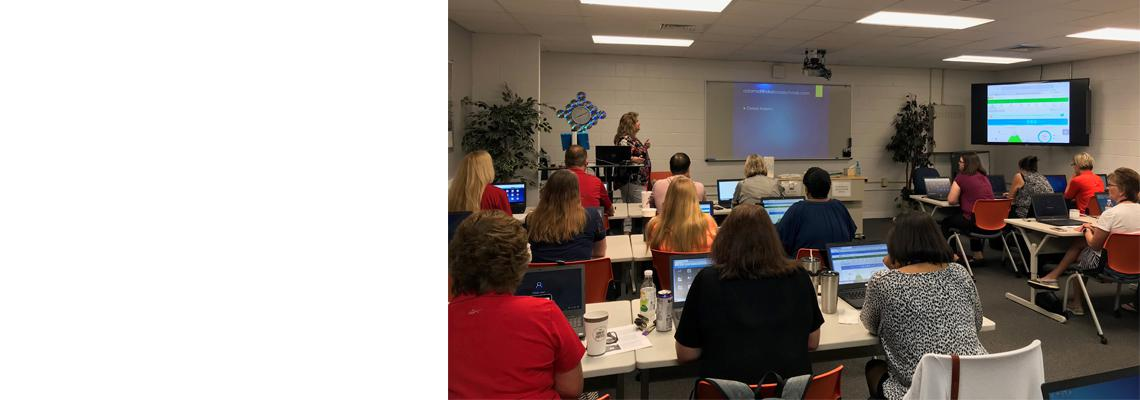 Debra Adams, Laurel Hill School, featured speaker in Okaloosa County's groundbreaking Professional Development Your Way initiative.