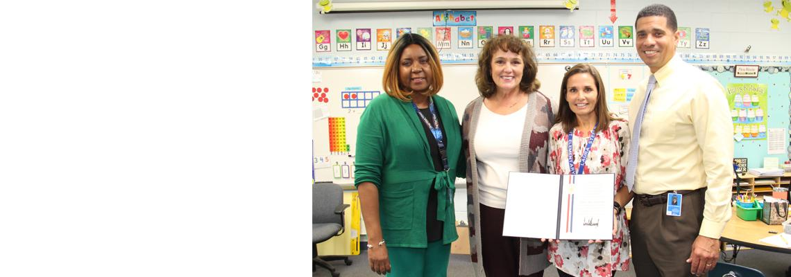 Laura Steele, Wright Elementary School, Wins Presidential Excellence Awards in Science, Mathematics, and Engineering