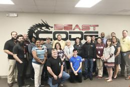 CTE Web Programming Teachers Tour Beast Code
