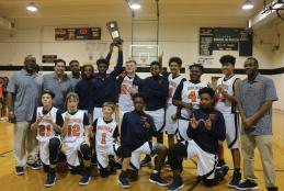 Bruner MS Basketball Team Wins Class 2A Middle School Athletic Conference Championship