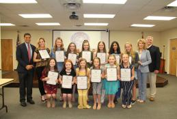 Ruckel MS Dance Team Recognized as State Champions in Hip Hop Division