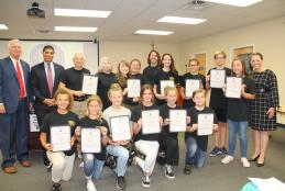 Meigs MS Archery Team Recognized as State Champions