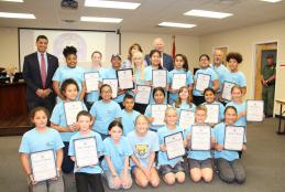 Shalimar ES Archery Team Recognized as State Champions