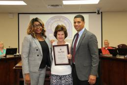 Tania Owens Recognized as Outstanding Senior School Volunteer