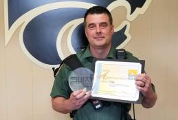 SRO TJ Bye, Meigs MS, named Outstanding SWAT Club Advisor