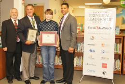 Mike Fantaski, Lewis School Principal, Recognized by Florida TaxWatch