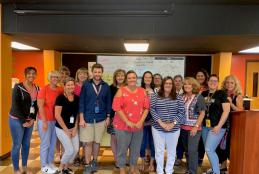 Science Teachers Attend REFUEL Camp
